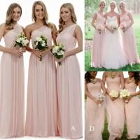 Long bridesmaid dress,light pink bridesmaid dresses ...