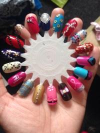 Nail designs/Nail art customised False Nails ...