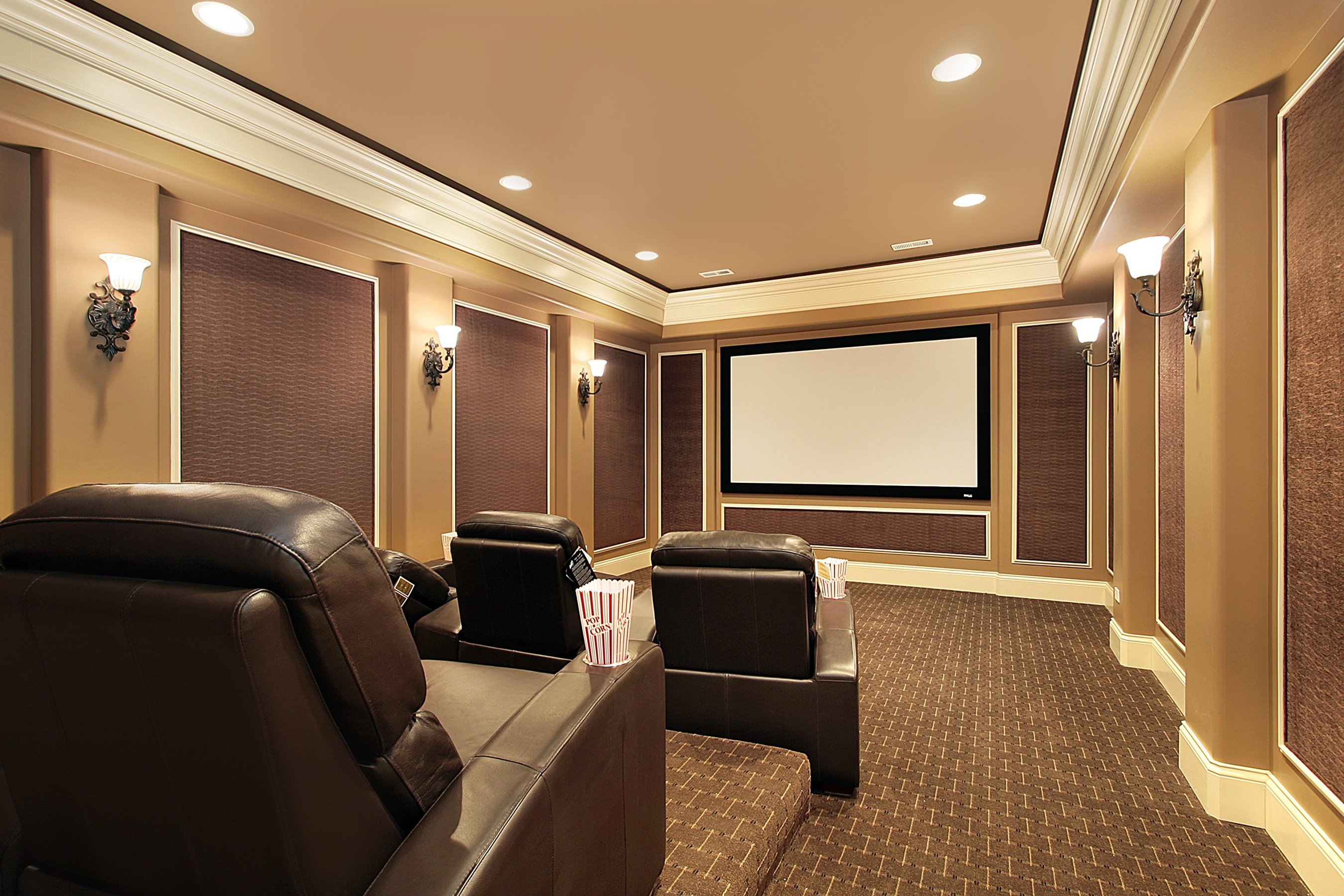 Home Theater Room Home Theater Lighting Done Right Super Bright Leds