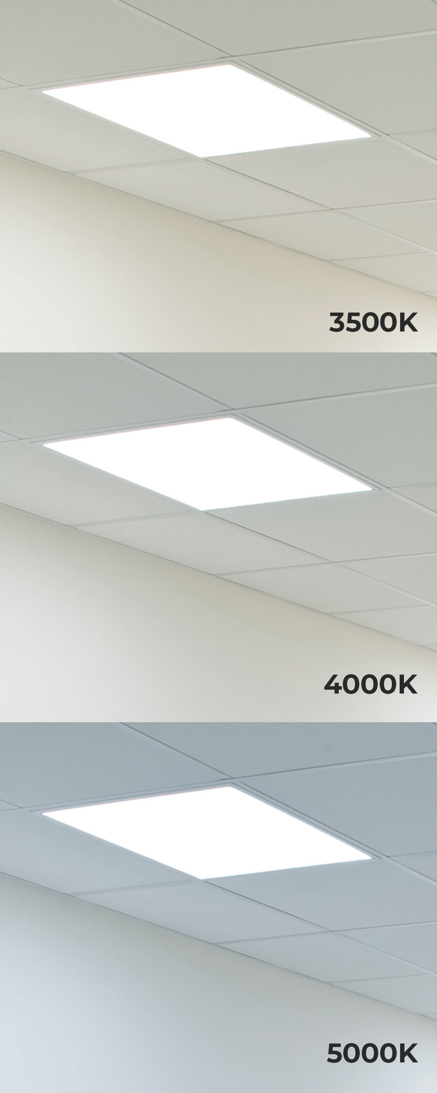Panel Light Led Panel Light 2x2 4000 Lumens 40w Dimmable Even Glow Light Fixture Drop Ceiling 5000k 4000k 3500k