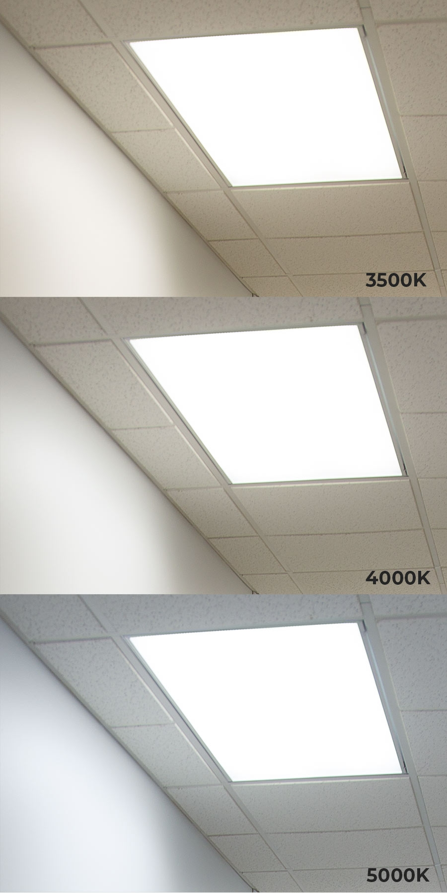 Panel Light Led Panel Light 2x4 5000 Lumens 50w Dimmable Even Glow Light Fixture Drop Ceiling 5000k 4000k 3500k