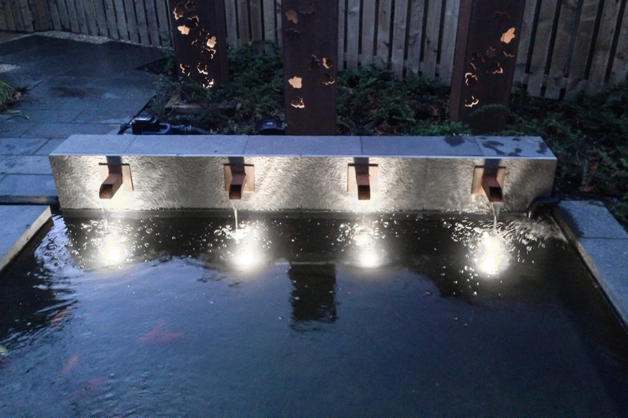 Led Underwater Pool Lights And Fountain Pond Lights