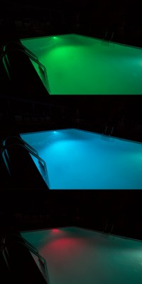 RGB LED Underwater Pool Lights and Fountain/Pond Lights ...