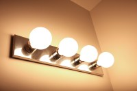 bathroom light wattage | Decoratingspecial.com