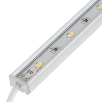 Waterproof Linear LED Light Bar Fixture w/ DC Barrel ...