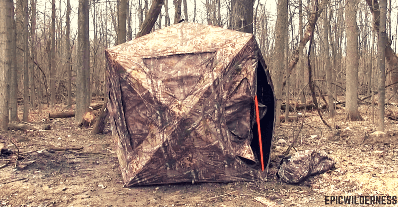 Best Ground Blinds For Bow Rifle Hunting Review 2018