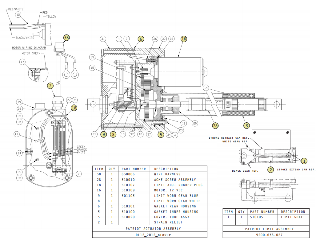 spal door actuator wiring diagram
