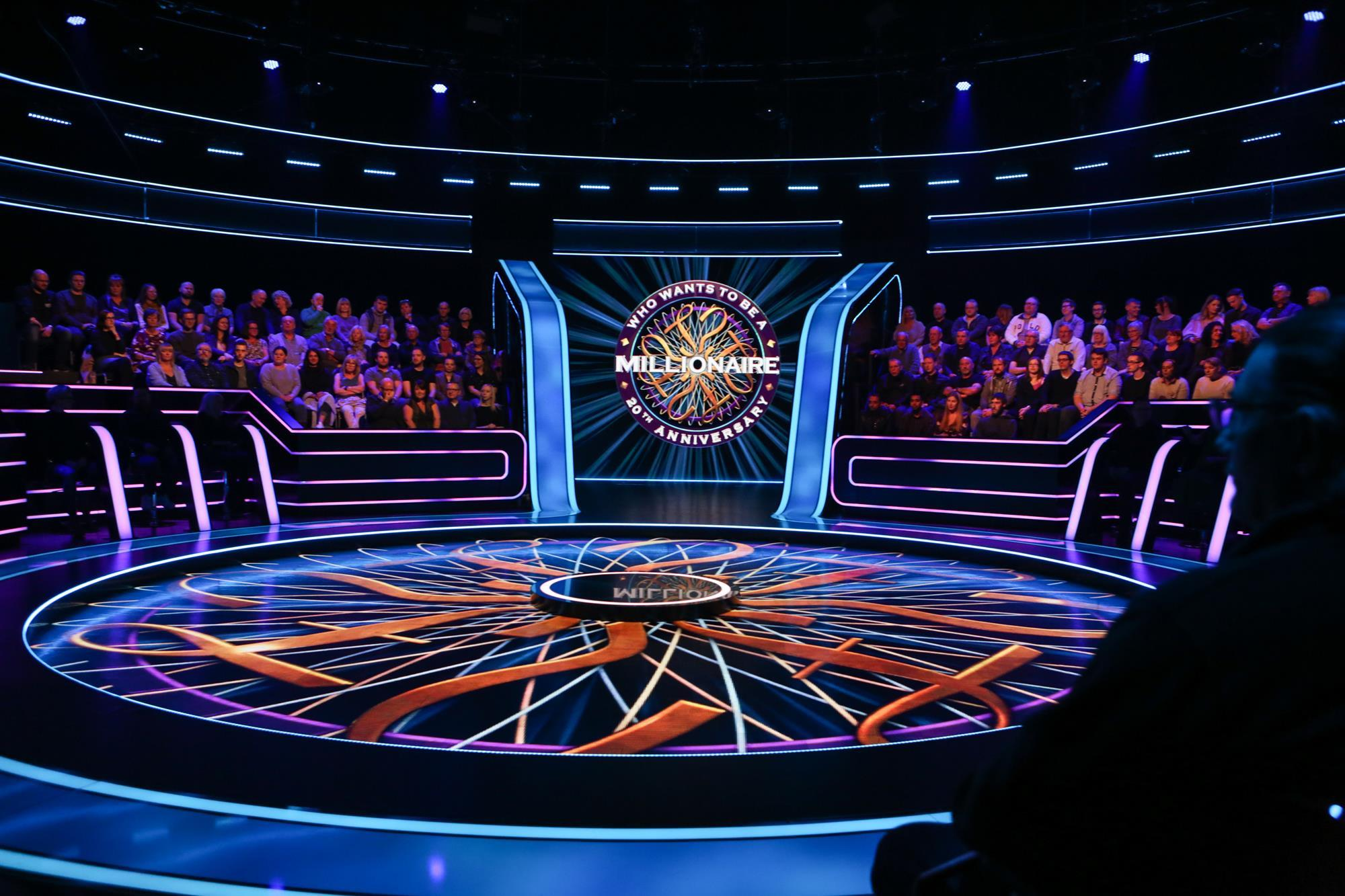 Test 1 Future Jobs Who Wants To Be A Millionaire Itv Behind The Scenes
