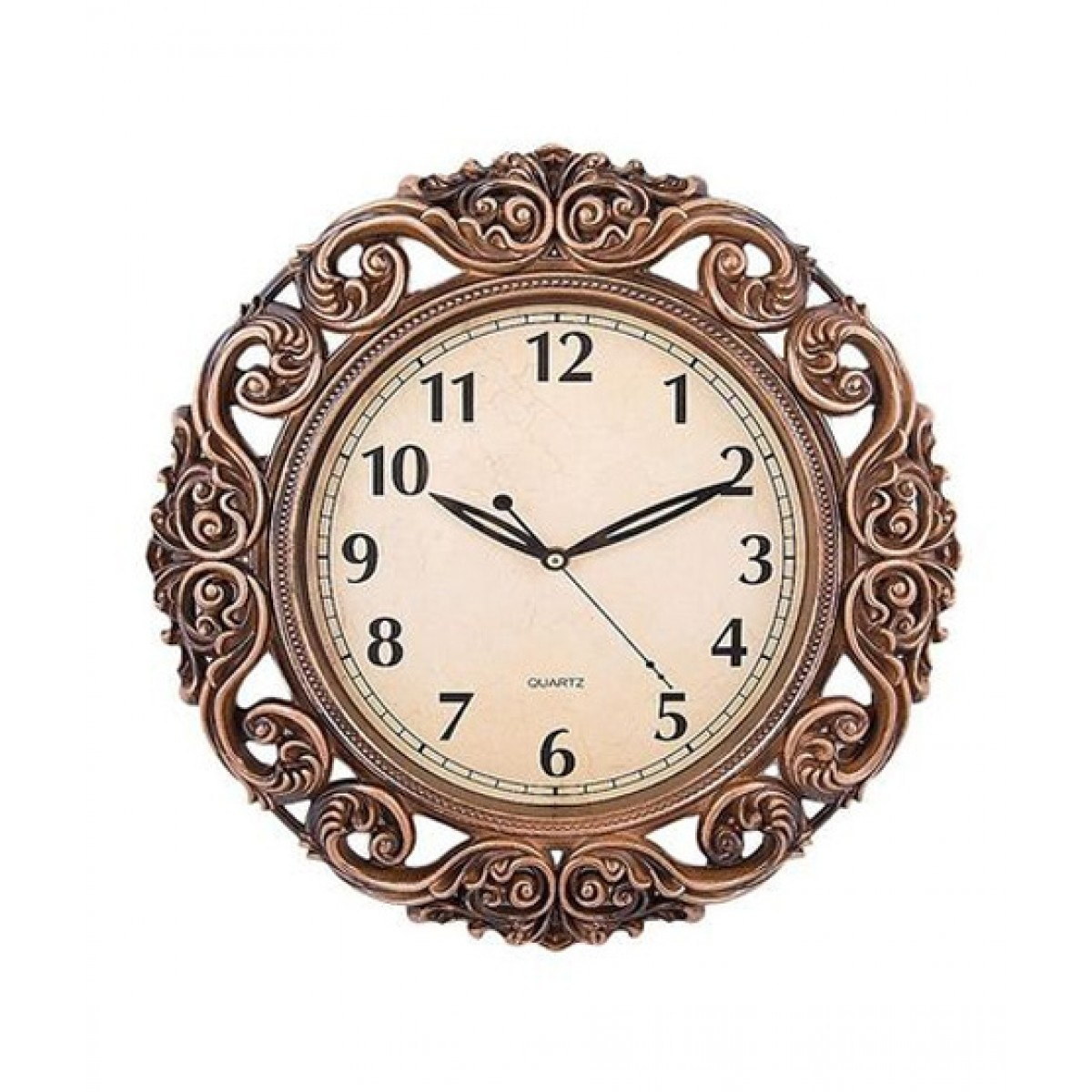 Buy Clock Asaan Buy Antique Wall Clock With Bronze Finishing 480