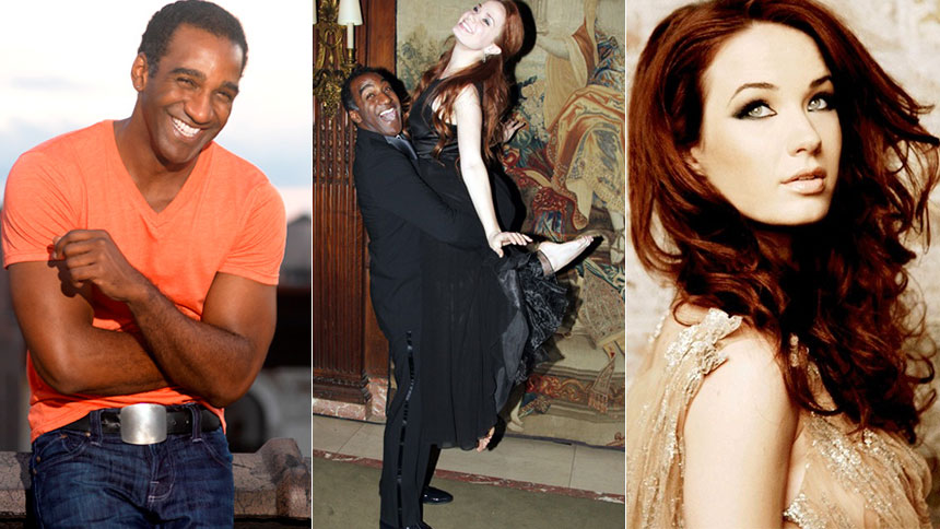 YouTube Celebration! Norm Lewis Is Broadway\u0027s New Phantom  Sierra - sierra boggess resume
