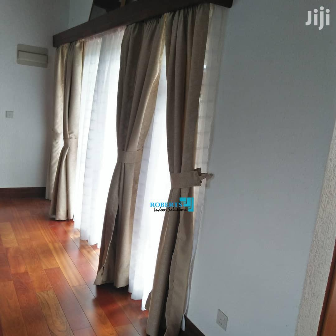 Decorative Window Curtain And Sheer In Nairobi Central Home Accessories Posh Homes Jiji Co Ke