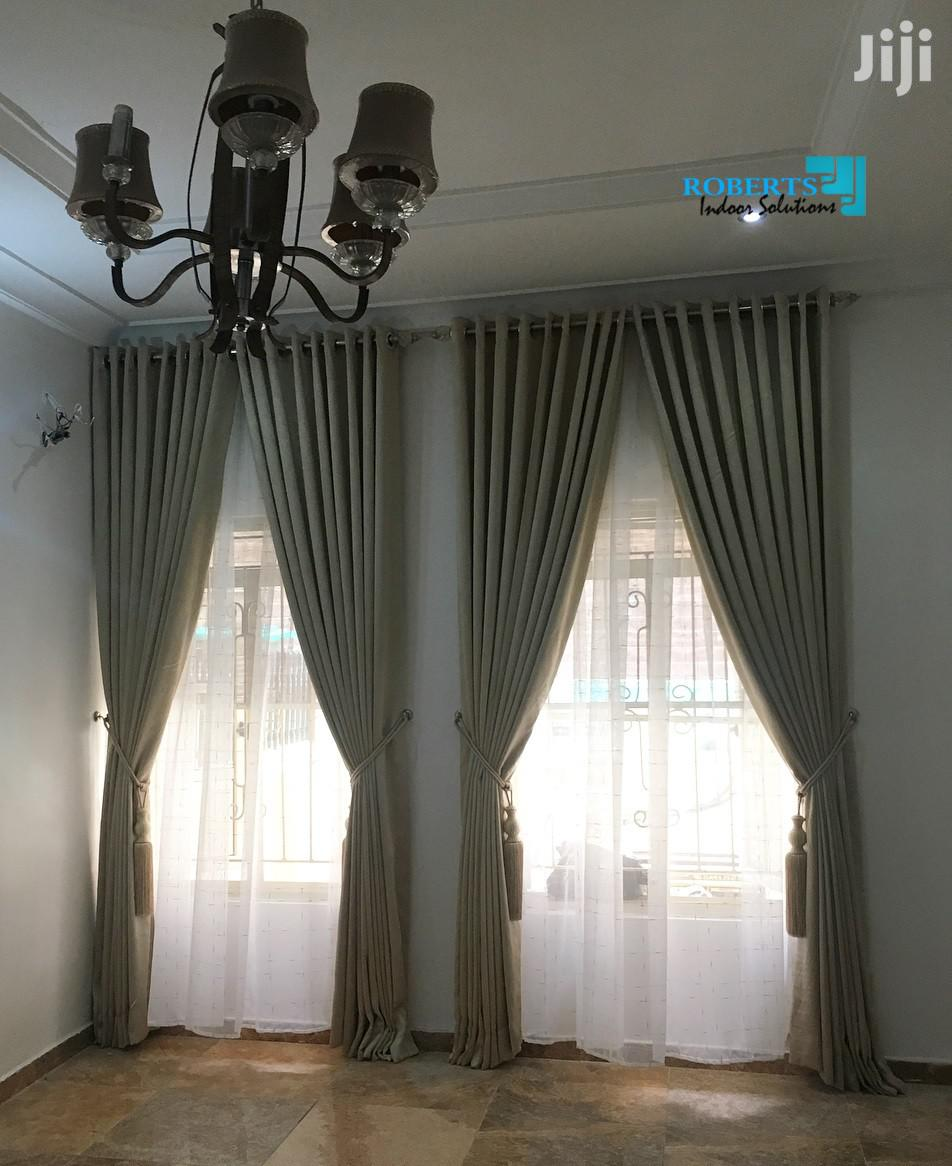 Archive Living Room Window Curtain And Sheer In Nairobi Central Home Accessories Posh Homes Jiji Co Ke
