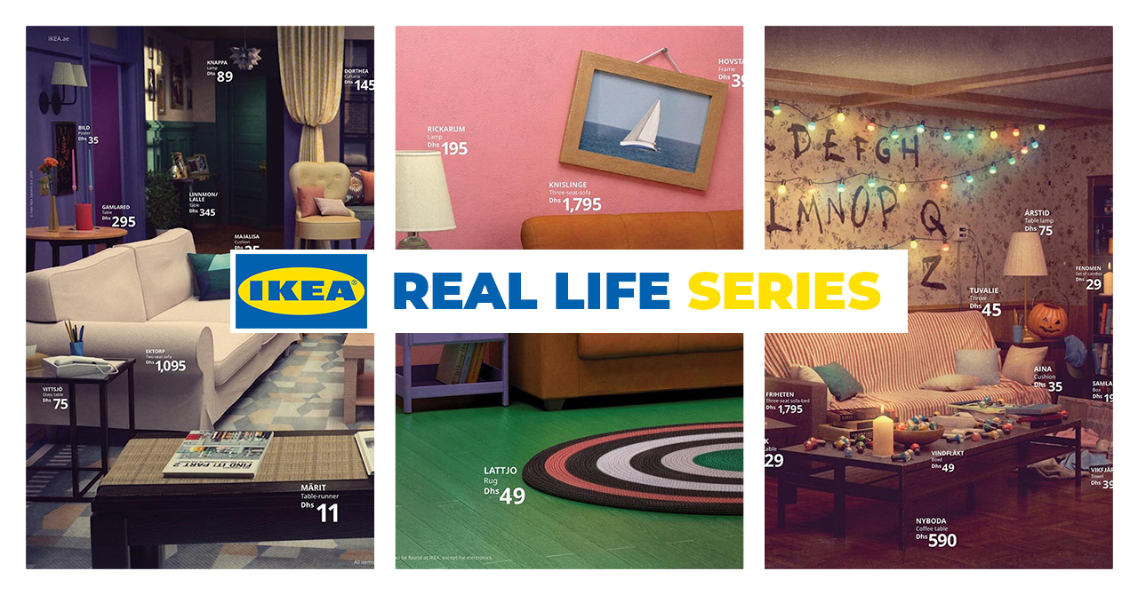 Ikea French Days Ikea Recreates 3 Iconic Tv Series Inspired Living Rooms Siam2nite