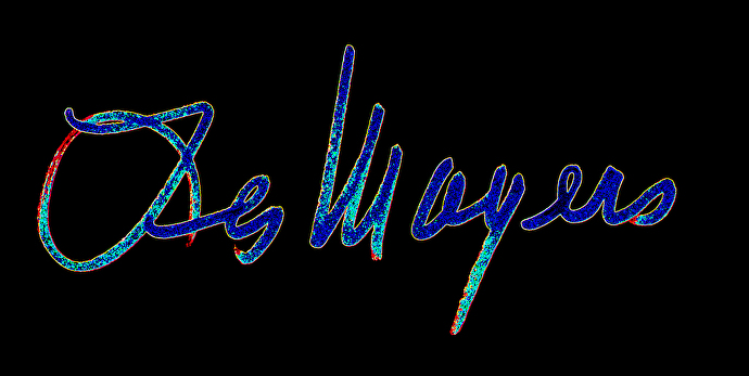 Les Mayers - Work Zoom LM SIGNATURE LOGO R1 BLUE ON BLACK BACKGROUND 02