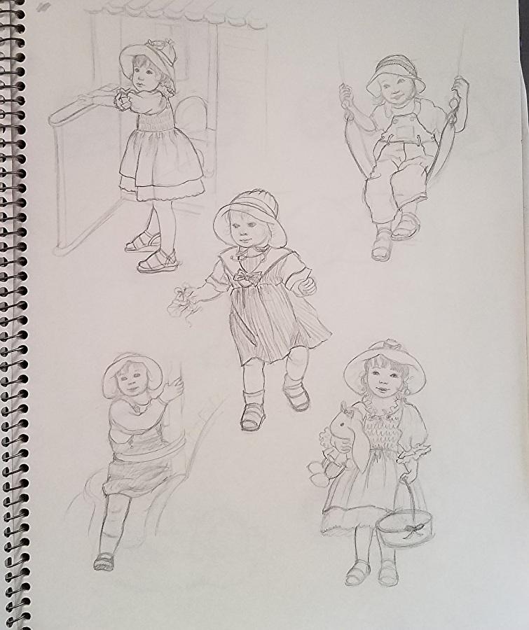 Inside Artist SketchBook
