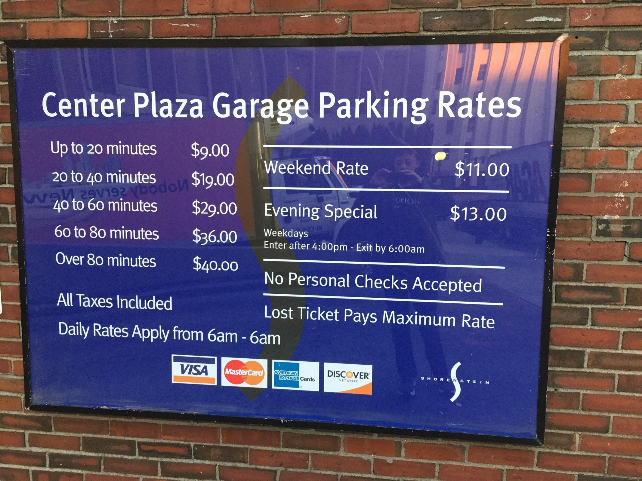 Cheapest Garage In Boston Center Plaza Garage Parking In Boston Parkme