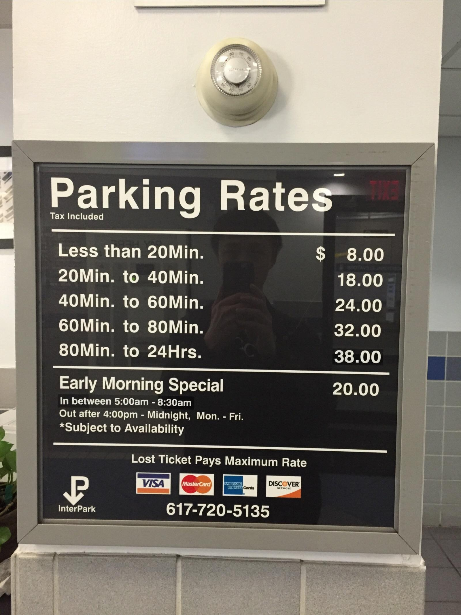 Cheapest Garage In Boston Boston Harbor Garage Parking In Boston Parkme