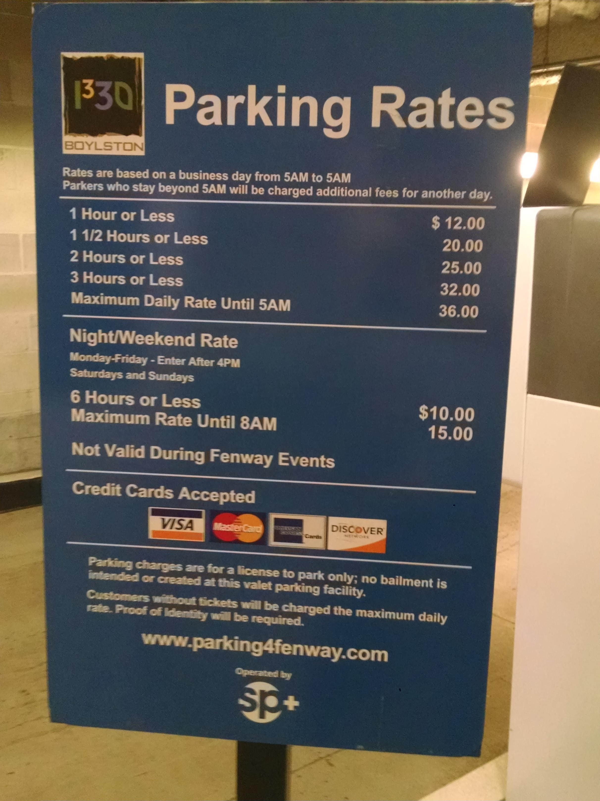 Cheapest Garage In Boston 1330 Boylston St Garage Parking In Boston Parkme