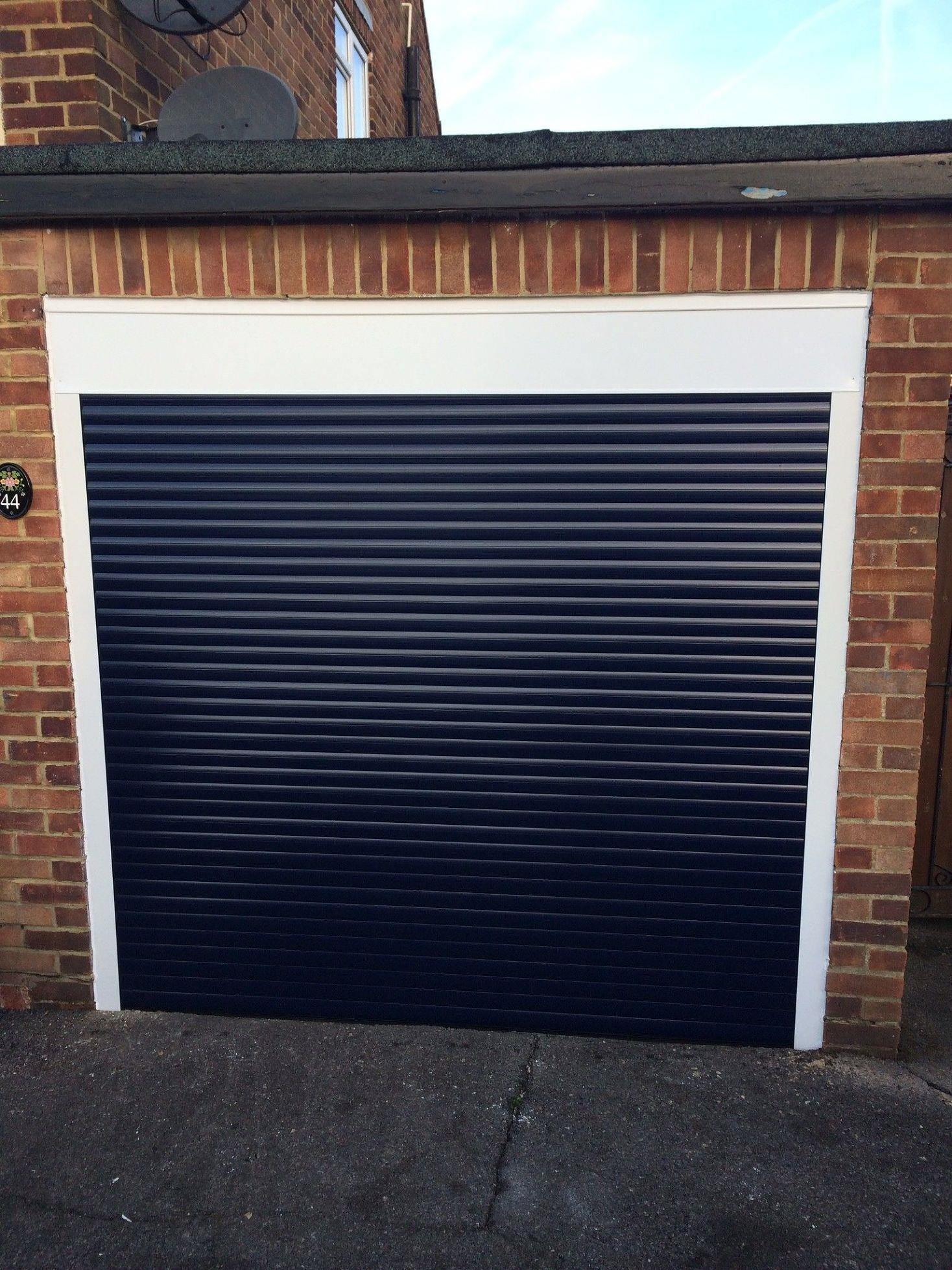 Fully fitted insulated electric roller door