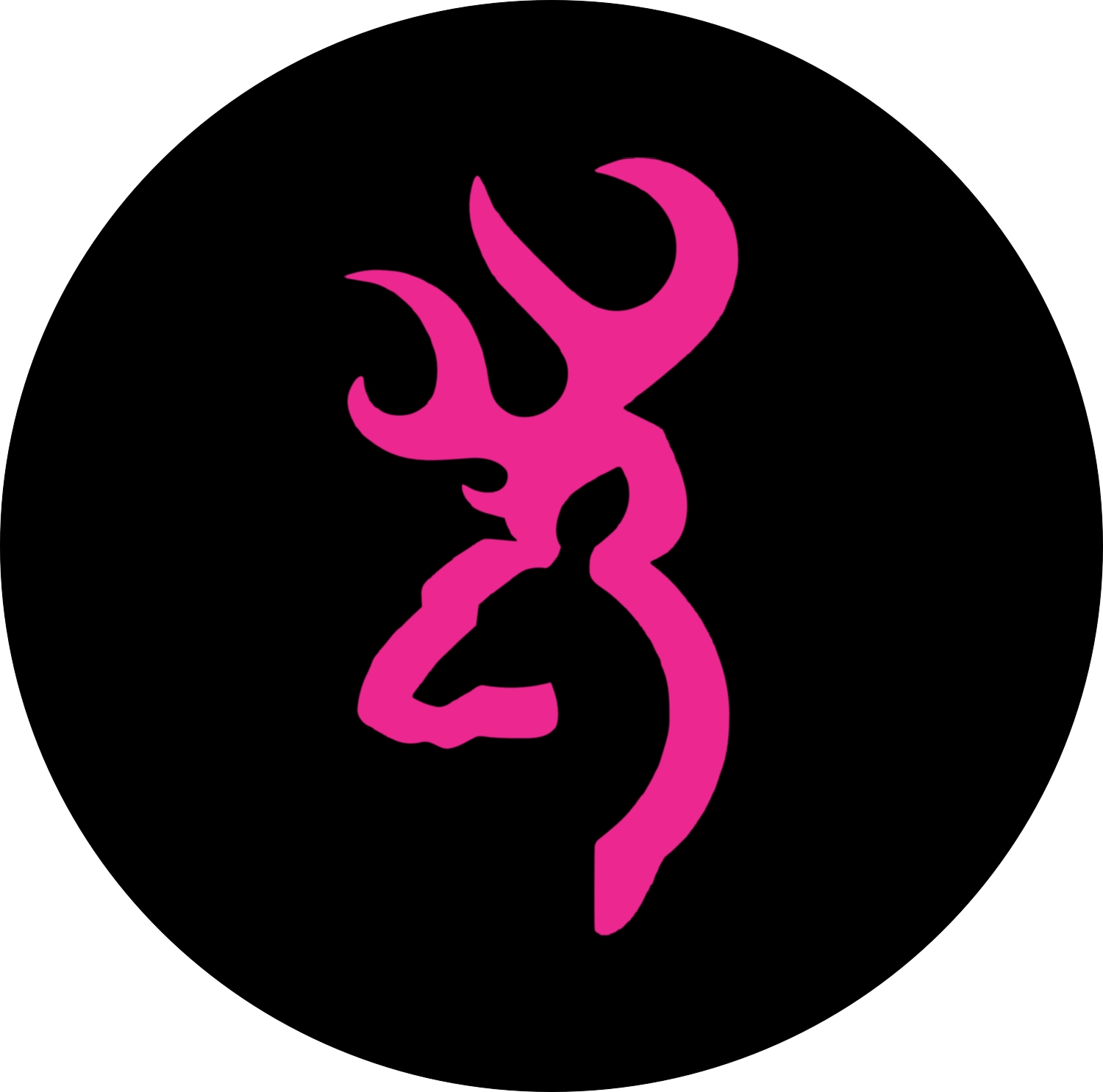 Army Girl Wallpaper Pink Browning Style Logo Spare Tire Cover