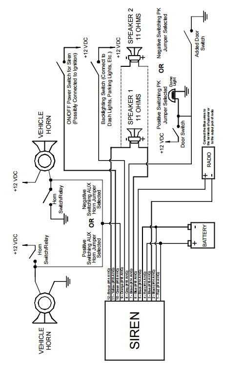 wig wag wiring diagram lights
