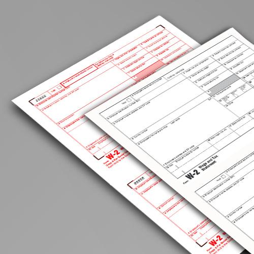 W2 Tax Form - tax form