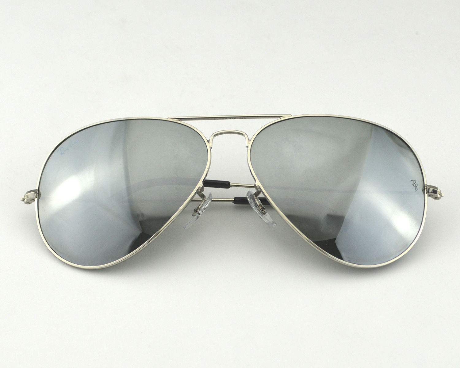 Ray Ban Aviator Specchio Ray Ban Rb3026 Aviator Large Metal Ⅱw3277 Silver Mirror