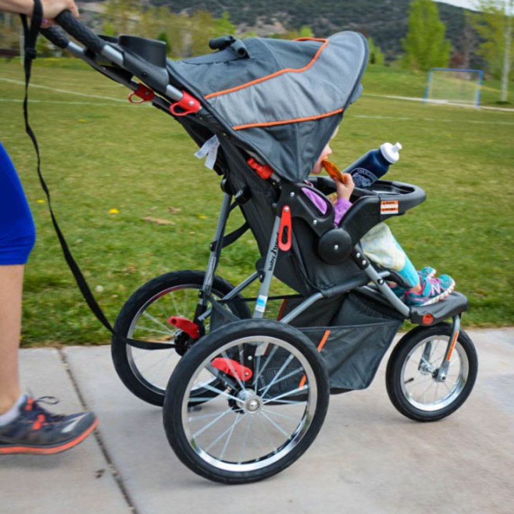 Travel Buggy With Sunroof Jogging Stroller