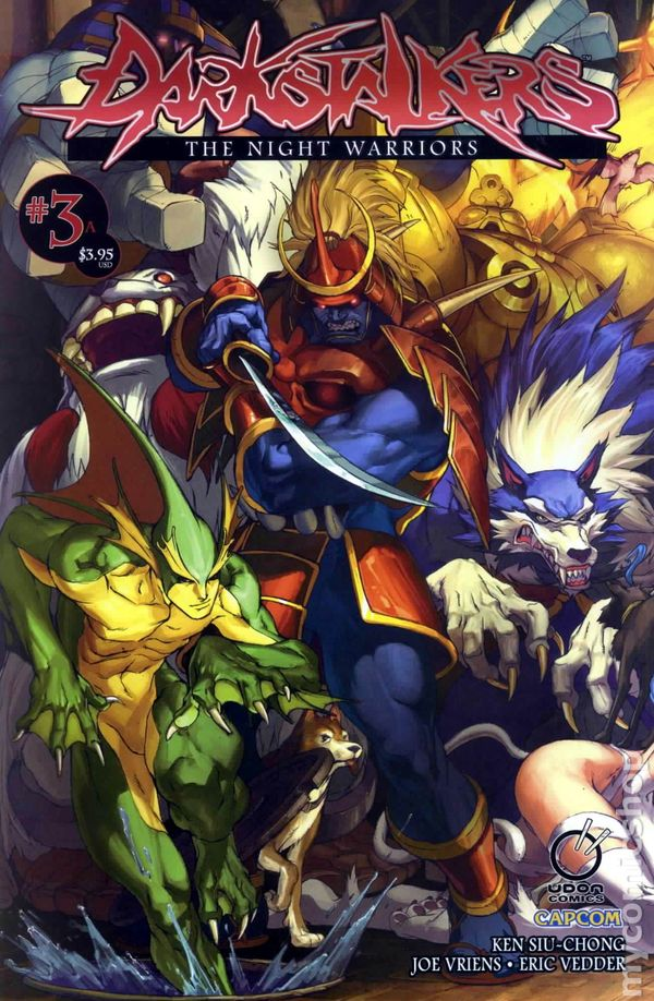 Vampire Girl Wallpaper Darkstalkers Night Warriors 2010 Udon Comic Books