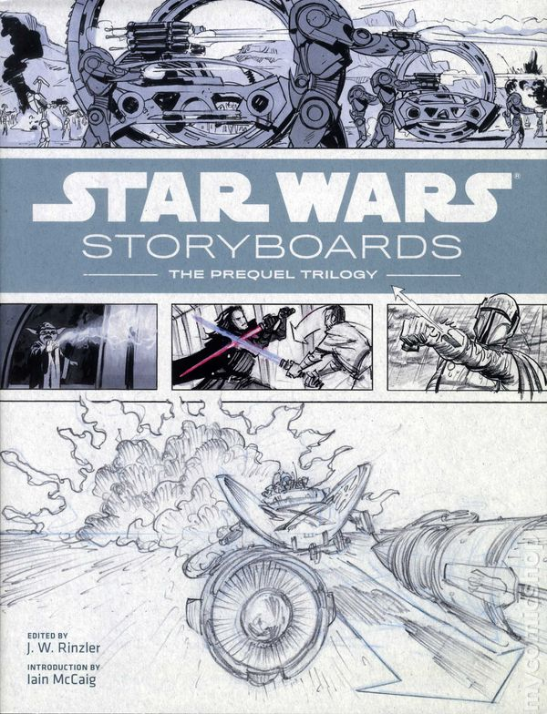 Star Wars Storyboards The Prequel Trilogy HC (2013 Abrams) comic books