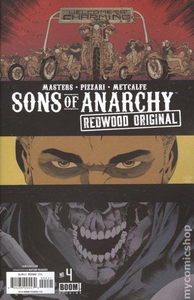 Sons of Anarchy Redwood Original (2016) comic books