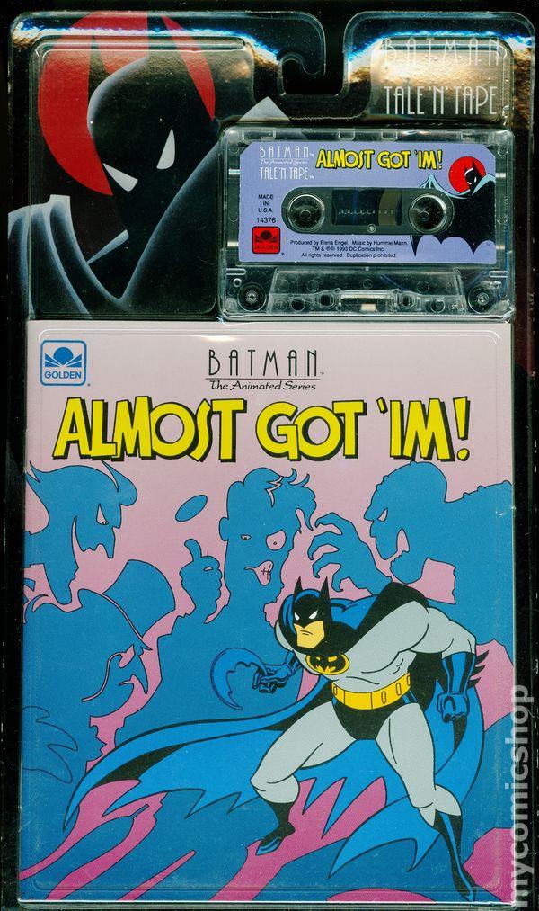 Batman The Animated Series Almost Got \u0027im (Golden Books 1993) comic