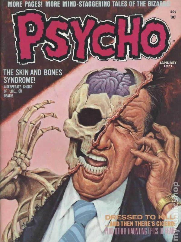 Danzig Wallpaper Hd Psycho 1971 Magazine Comic Books