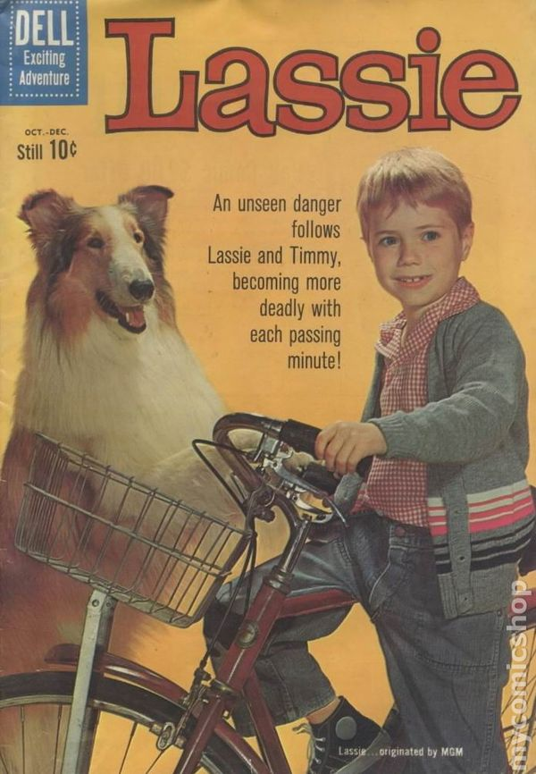 Art Gallery Stock Images Lassie 1950 Comic Books