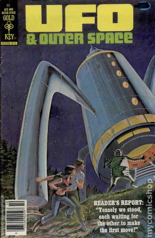 Flying Space Ufo And Outer Space (1978 Gold Key) Comic Books