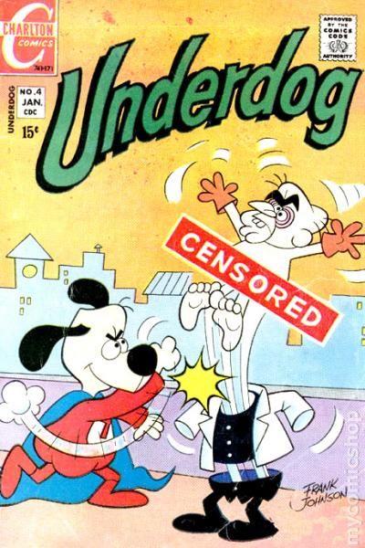 underdog cartoon