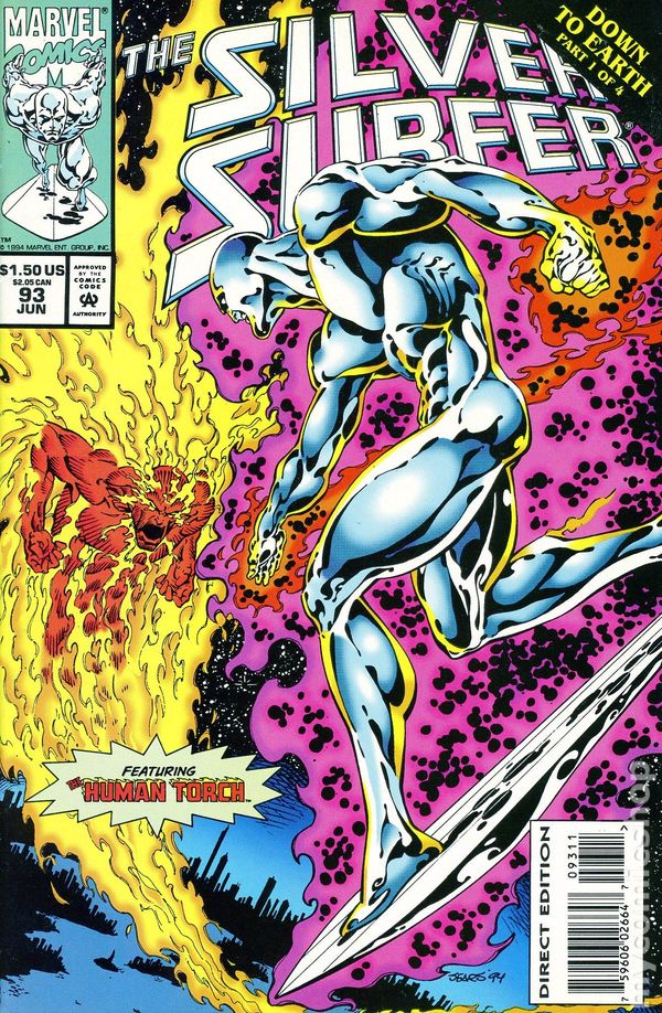Complete Black Wallpaper Silver Surfer 1987 2nd Series Comic Books