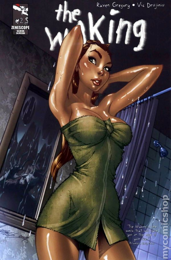 Zombie Pin Up Girl Wallpaper Waking 2010 Zenescope Entertainment Comic Books
