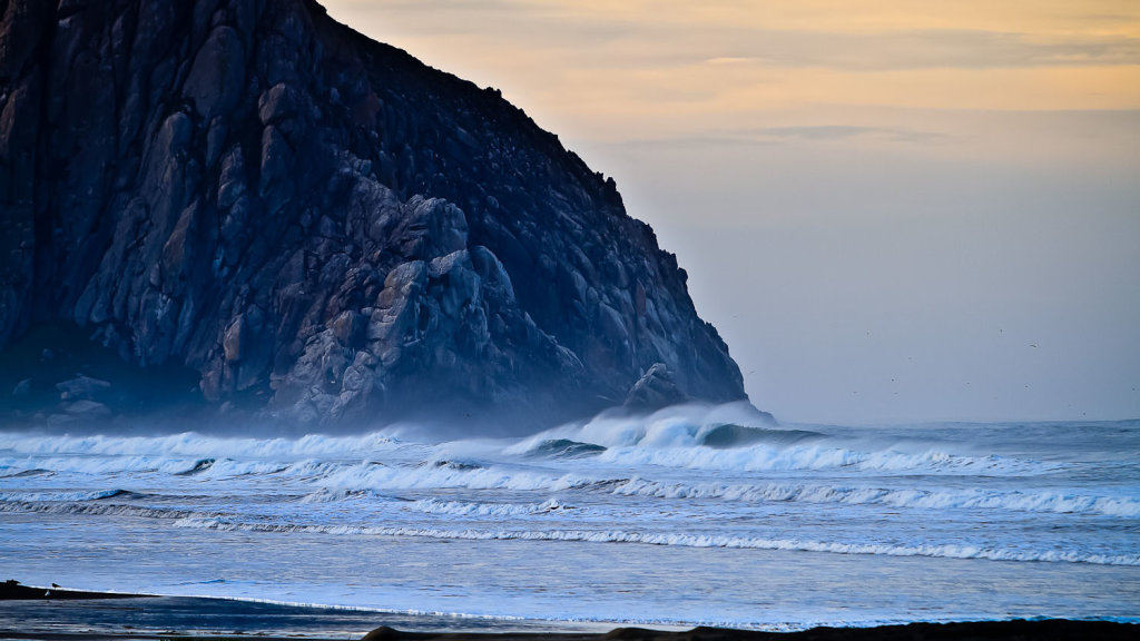 Morro Bay Surf Report  Forecast - Map of Morro Bay Surf Spots