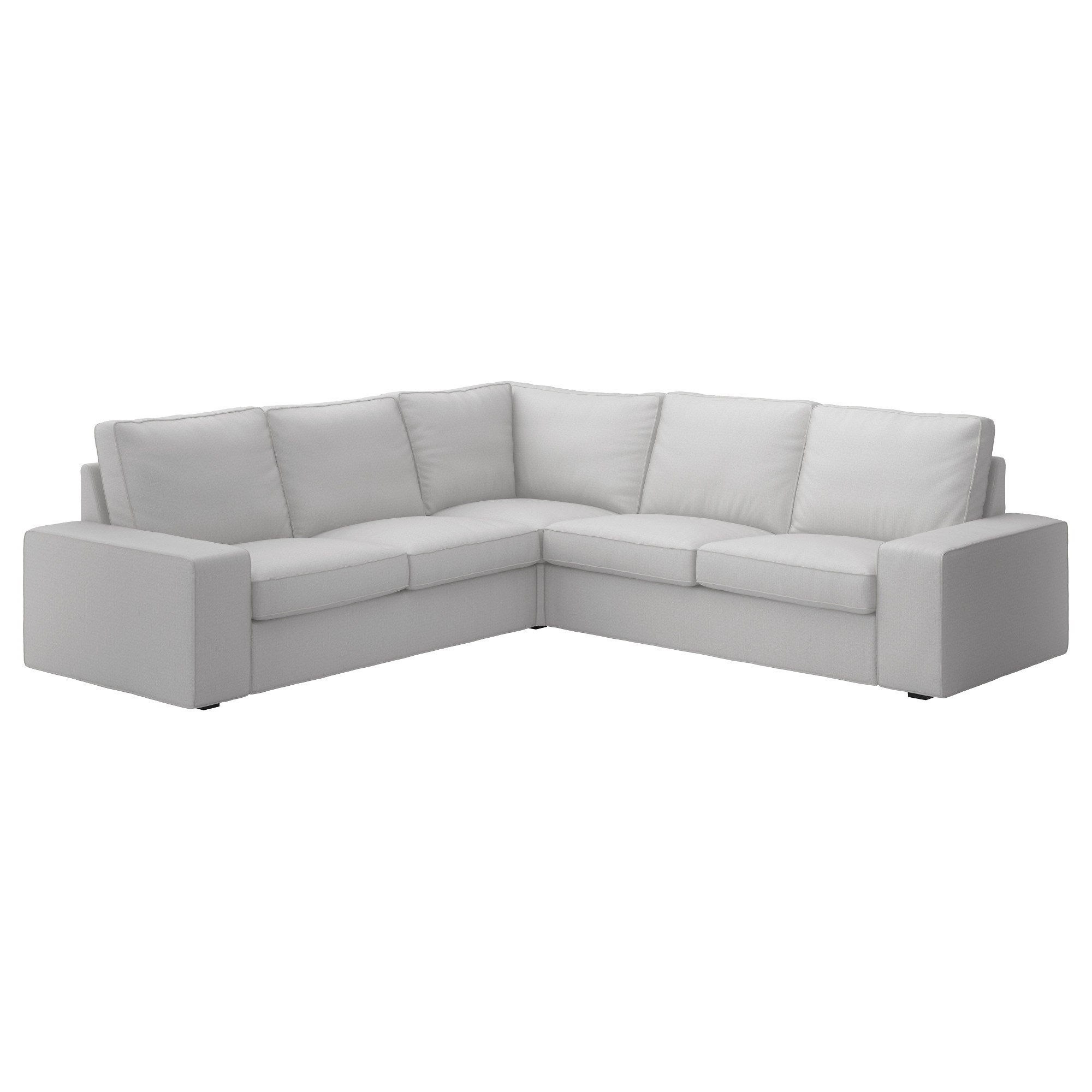 Sofas Ikea Lanzarote Kivik Corner Sofa 4 Seats With Orrsta Light Grey Cover