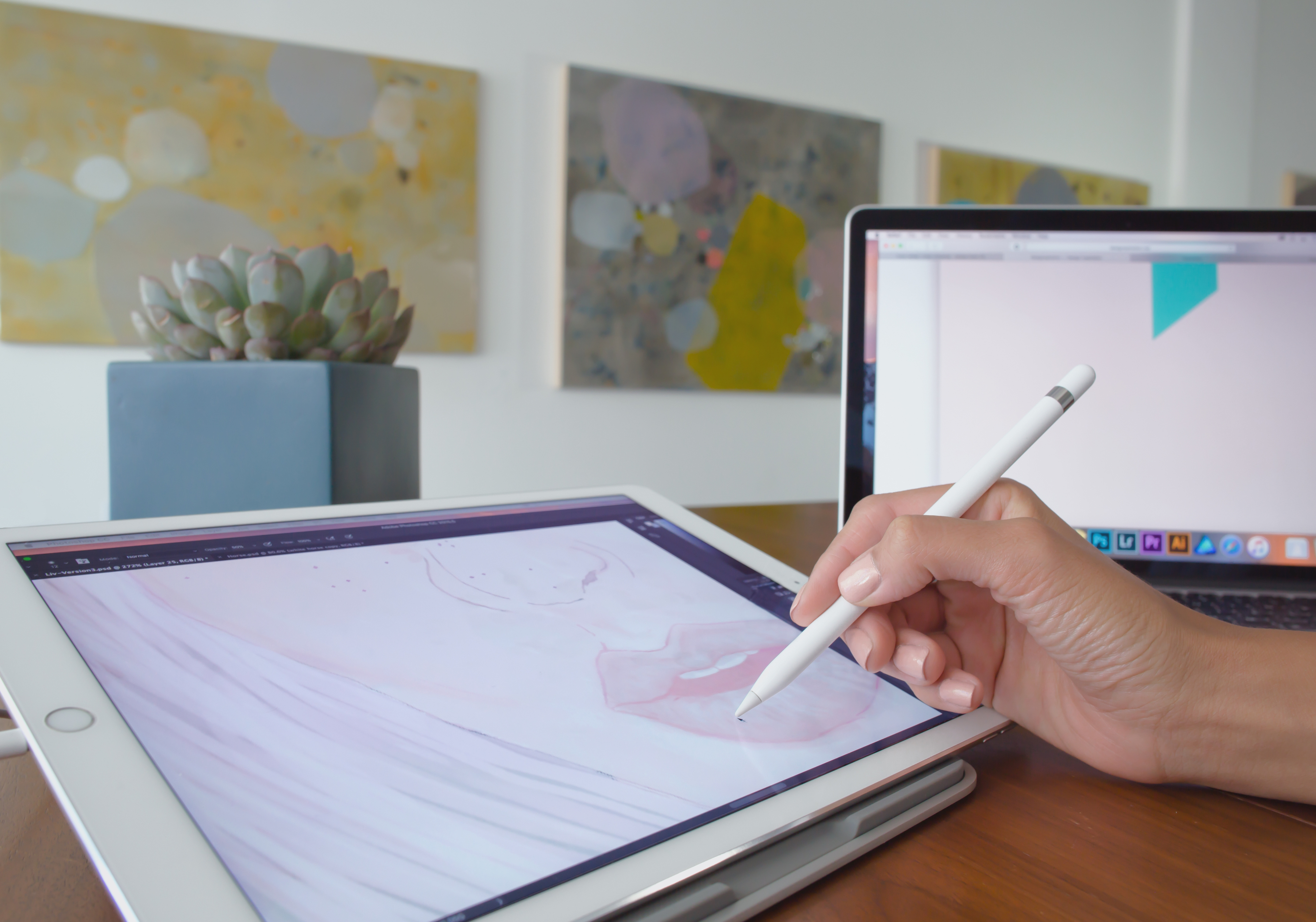 Zeichenprogramm Für Tablet Duet Pro Ex Apple Engineers Turn Your Ipad Into A Drawing Tablet