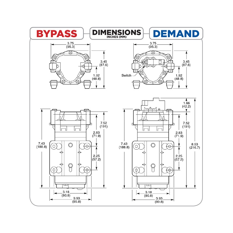Braber Equipment - Delavan 7812-111 12V Bypass Pump