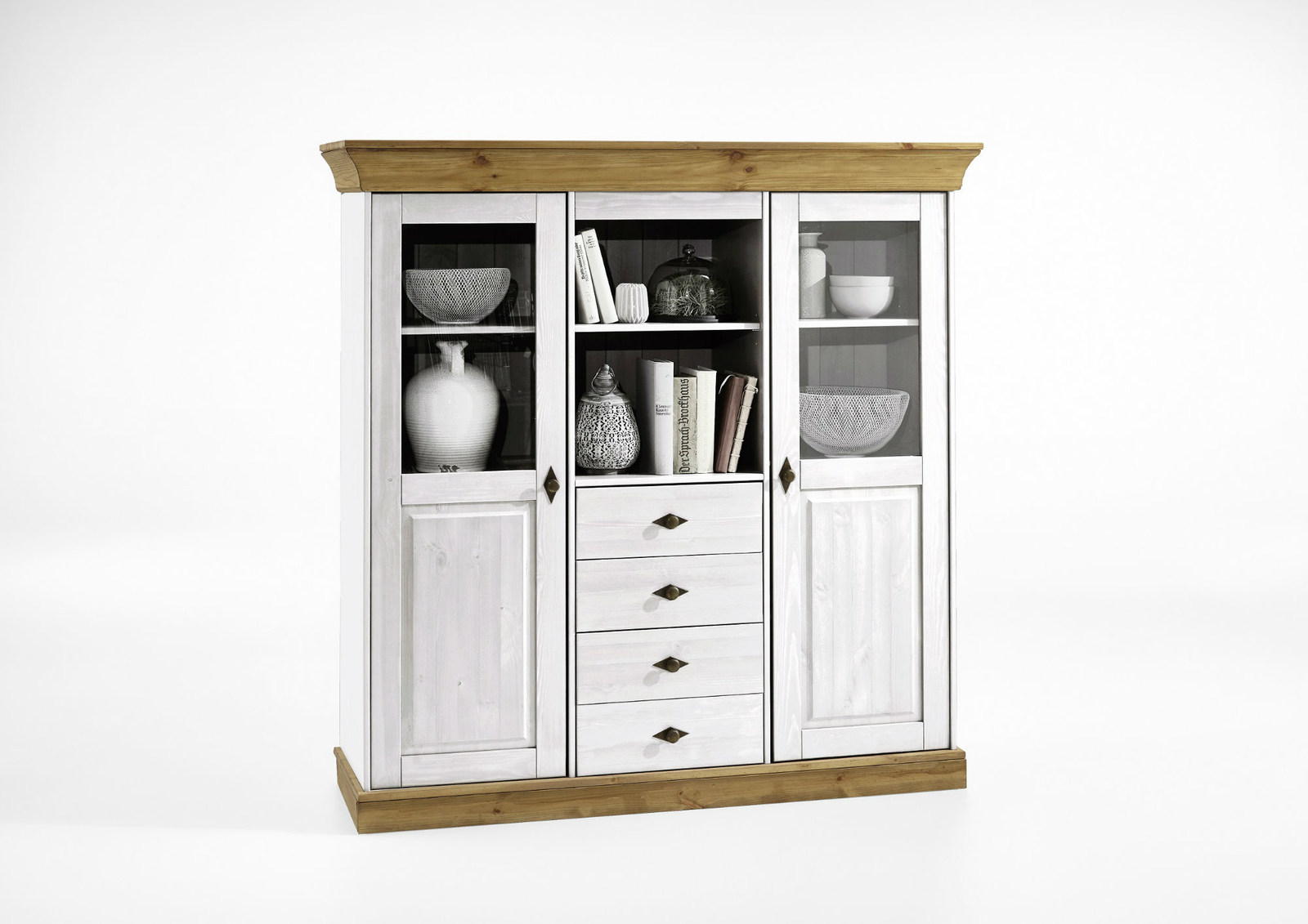 Highboard Landhaus Highboard Bergen Landhaus