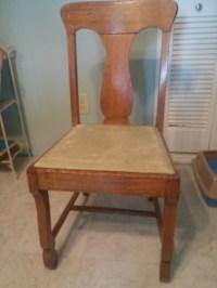 3 Antique oak dining room chair antique appraisal ...
