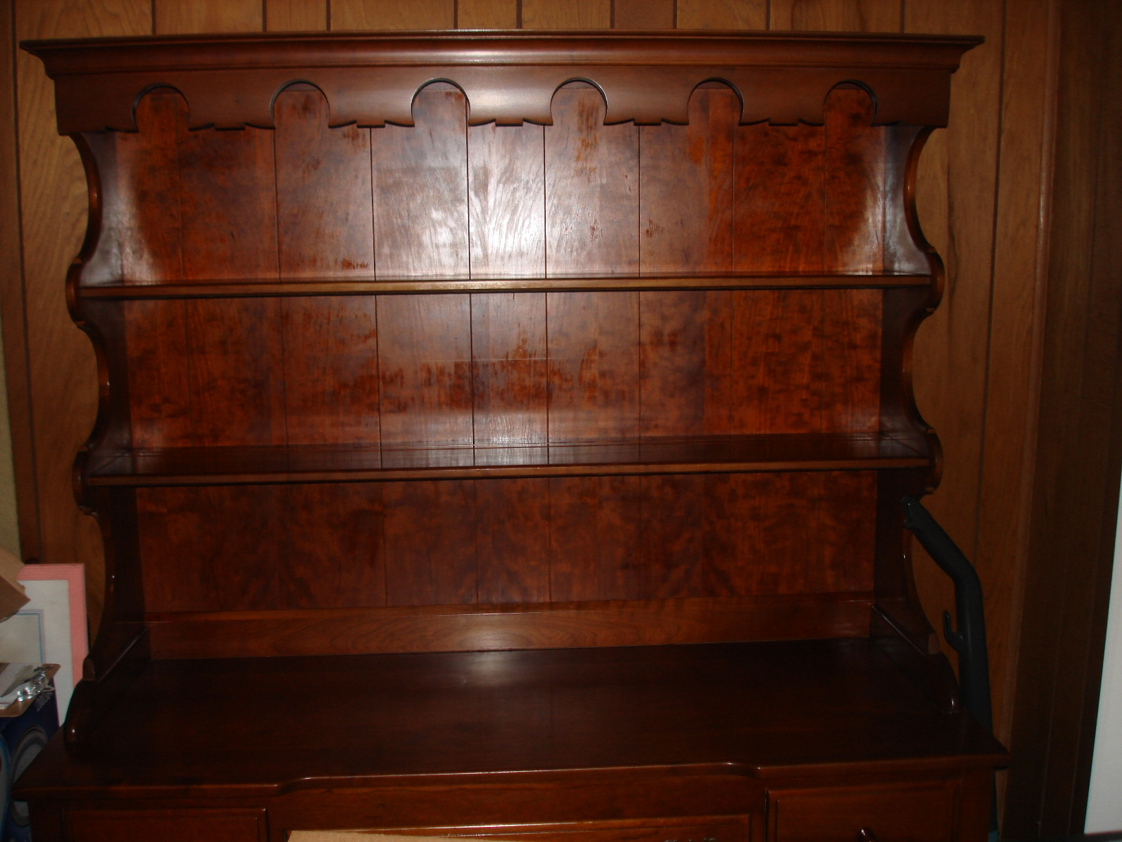 Solid Cherry Hutch By Monitor Furniture Co Jamestown Ny Antique Appraisal Instappraisal