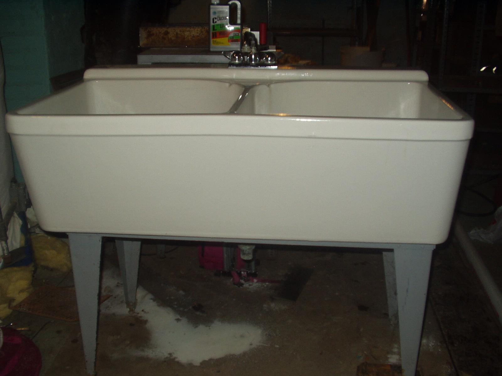 Crane Double Basin Utility Sink Antique Appraisal