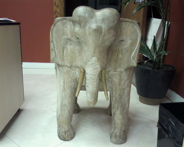 Hand Carved Wooden Elephant Chair Antique Appraisal - Elephant Chair