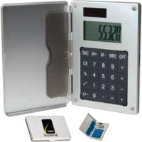 Customized Business Card Holder/Calculator - USimprints