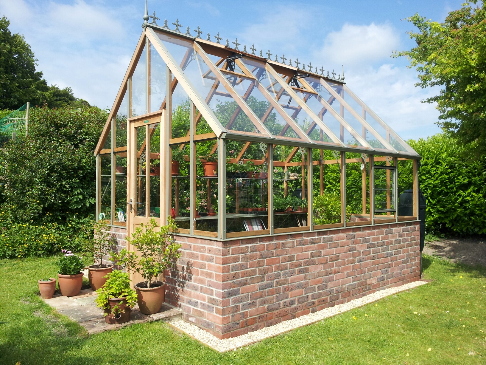 Englisches Gewächshaus Wooden Greenhouses For Sale - Alton Greenhouses