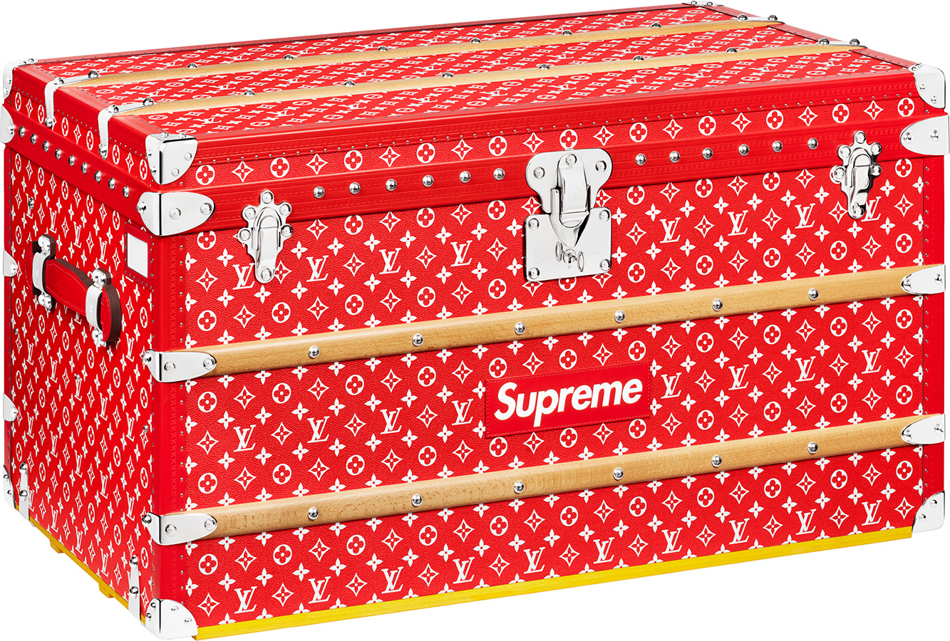 Fall And Winter Wallpaper Supreme Louis Vuitton Supreme Malle Courrier 90 Trunk